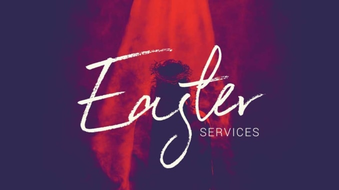 easter services sun 4.1 10 am
