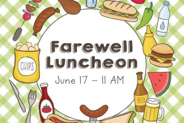 Farewell Luncheon