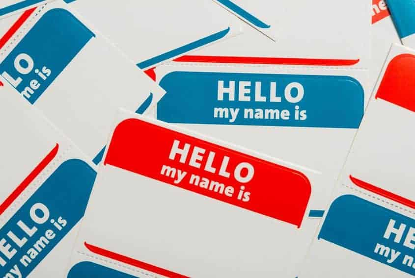 Hello! My name is…