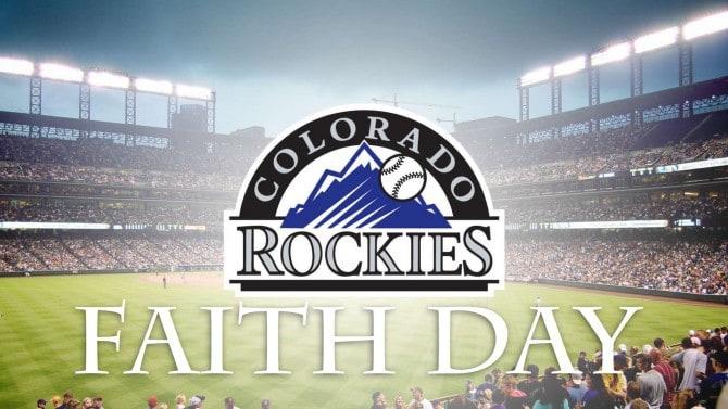 Colorado Rockies Faith Day July 29