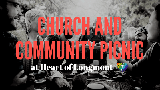 Church and Community Picnic at Heart of Longmont September 16
