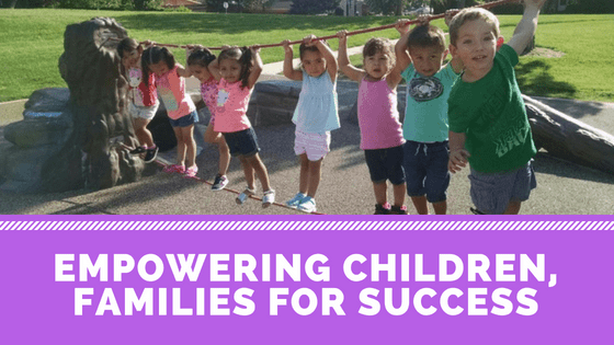Empowering children, families for success