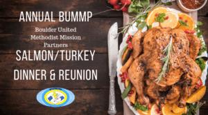 BUMMP Salmon and Turkey Dinner October 14 2018