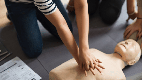 CPR/First Aid Class at Heart of Longmont