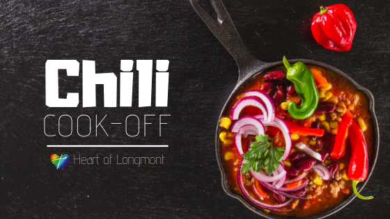 Annual Chili Cook December 2 2018 at Heart of Longmont