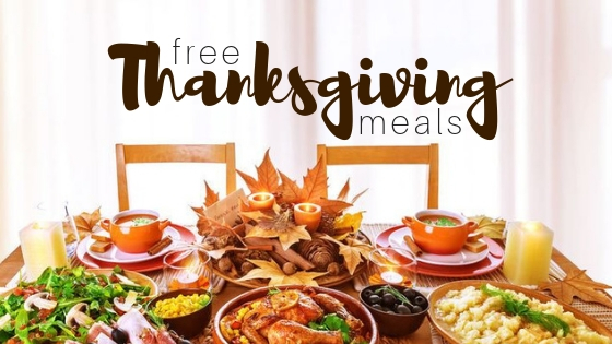 Free Thanksgiving Meals