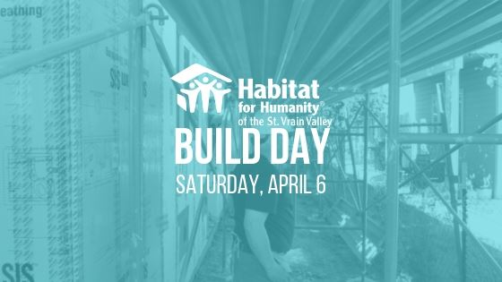 Habitat for humanity build day on April 6 longmont co