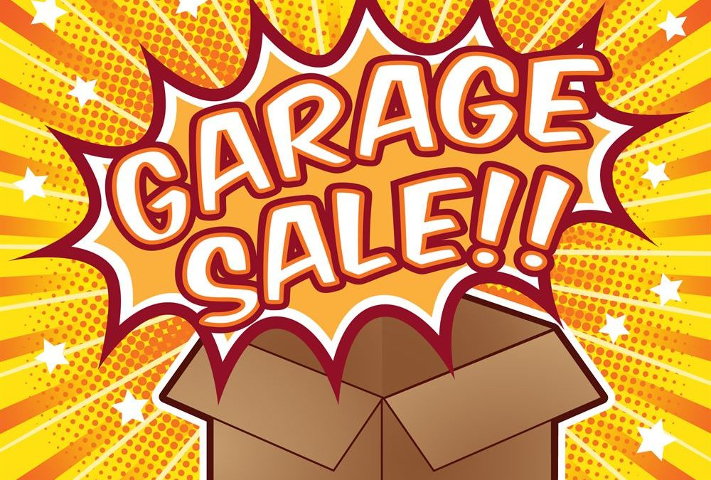 All church garage sale at Heart of Longmont