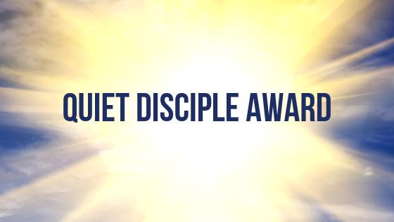 Quiet Disciple Award at Heart of Longmont