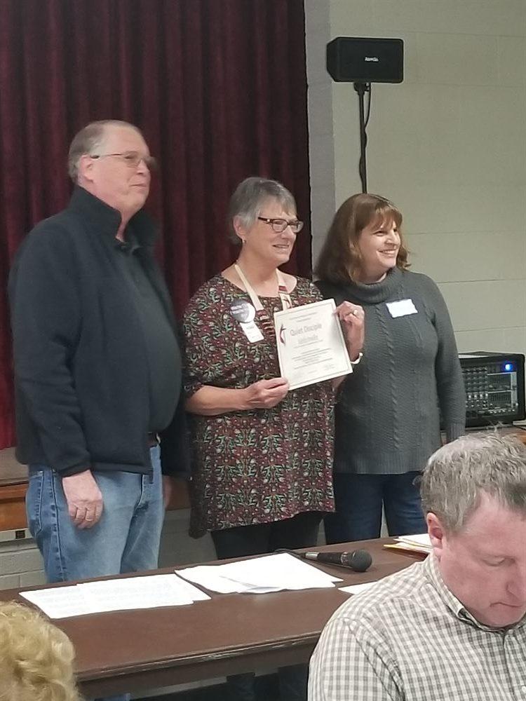 kathy Bradley Quiet Disciples Award