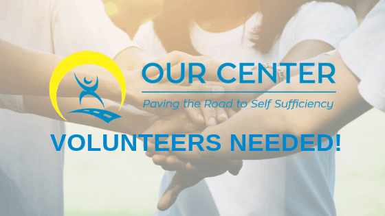 OUR Center needs volunteers!