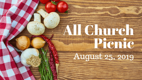 All-Church Picnic this Sunday!