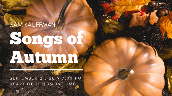 Songs of Autumn Concert