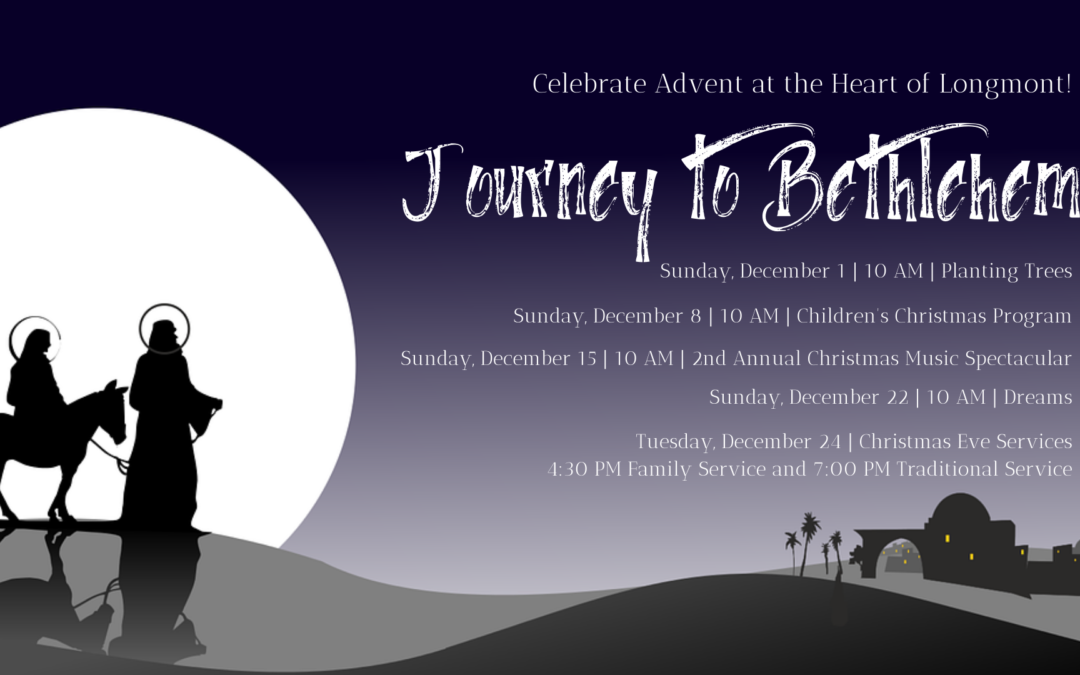 Advent 2019 – Journey to Bethlehem