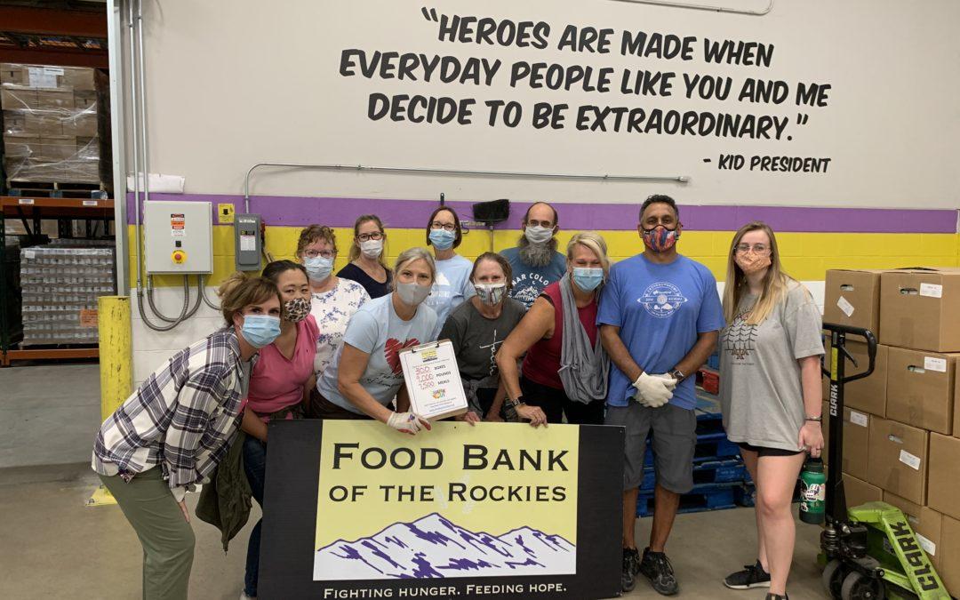 Adventurers Food Bank Volunteers