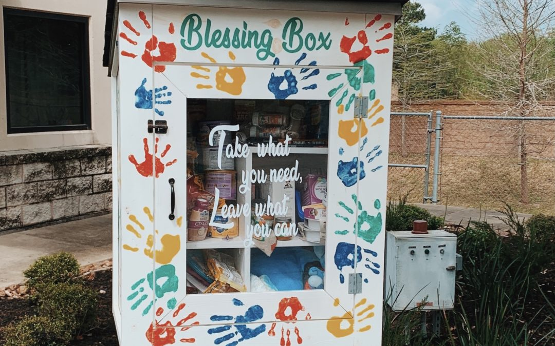 Blessing Box Almost Complete!