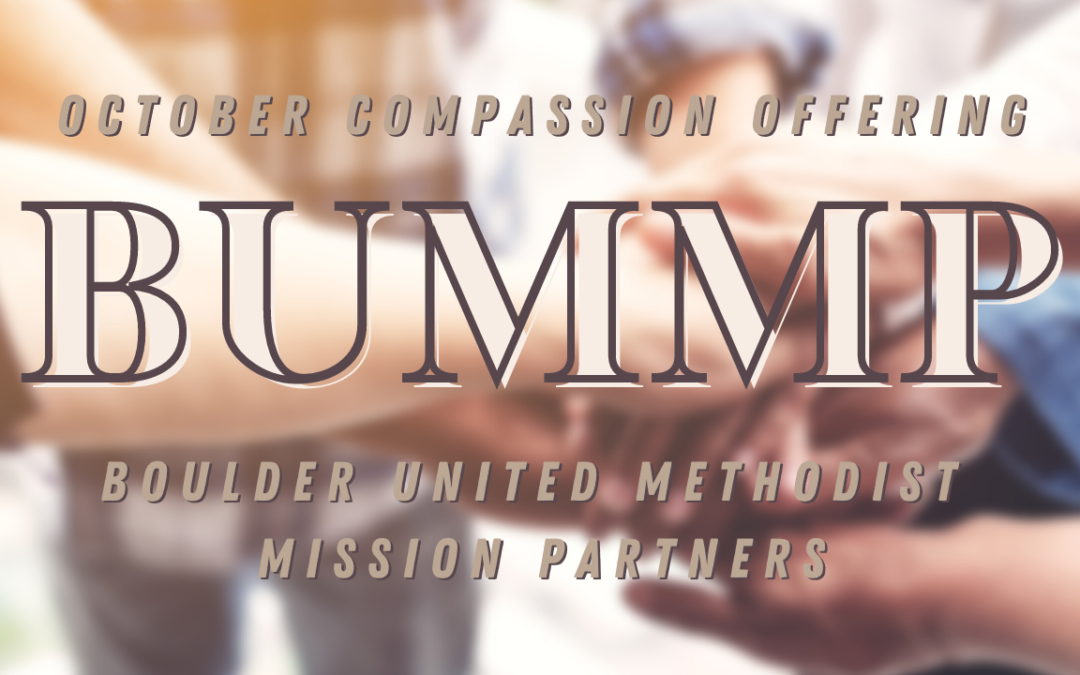 October Compassion Offering – BUMMP